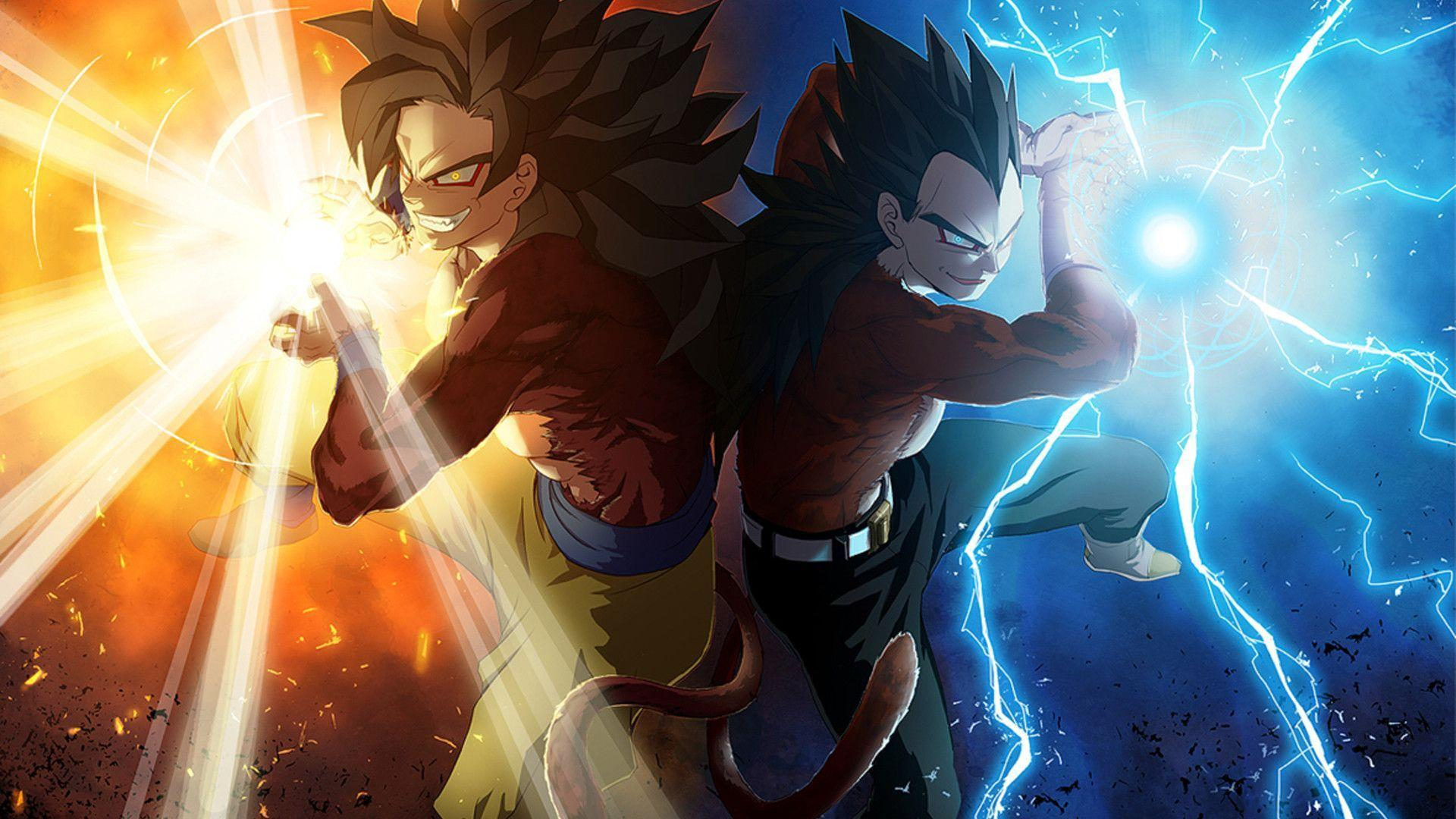 Goku & Vageta* - Dragon Ball Z Wallpaper (35525624) - Fanpop