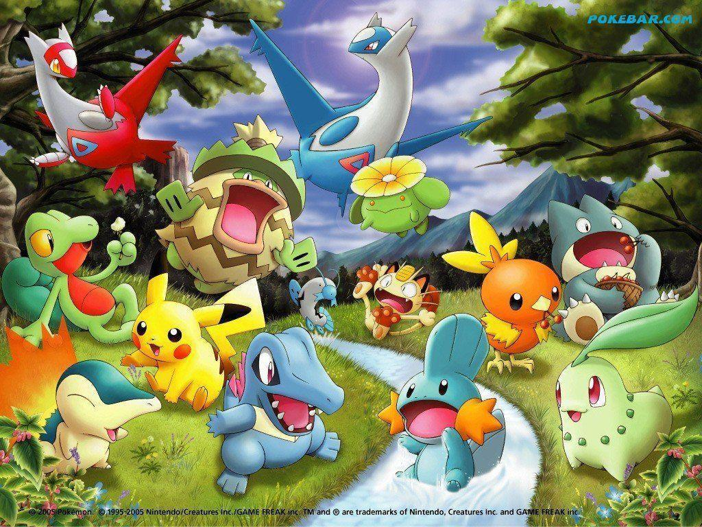 Cute Pokemon Backgrounds Wallpaper Cave