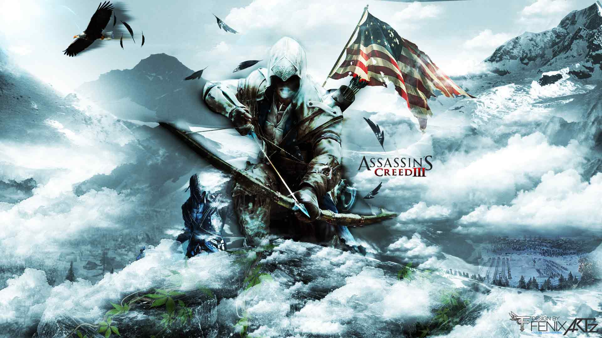Assassin&Creed 3 Wallpapers 1920 X 1080 Wallpapers
