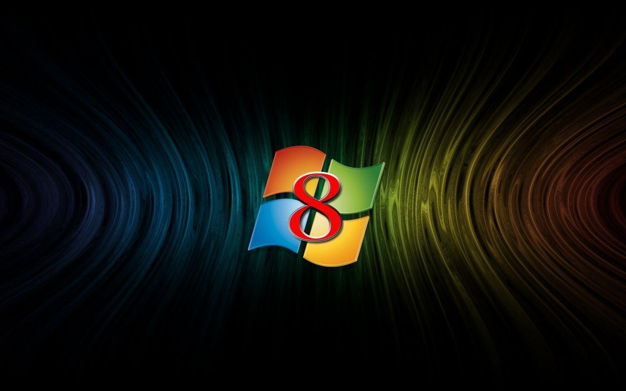 Windows 8 Central Logo Wallpapers