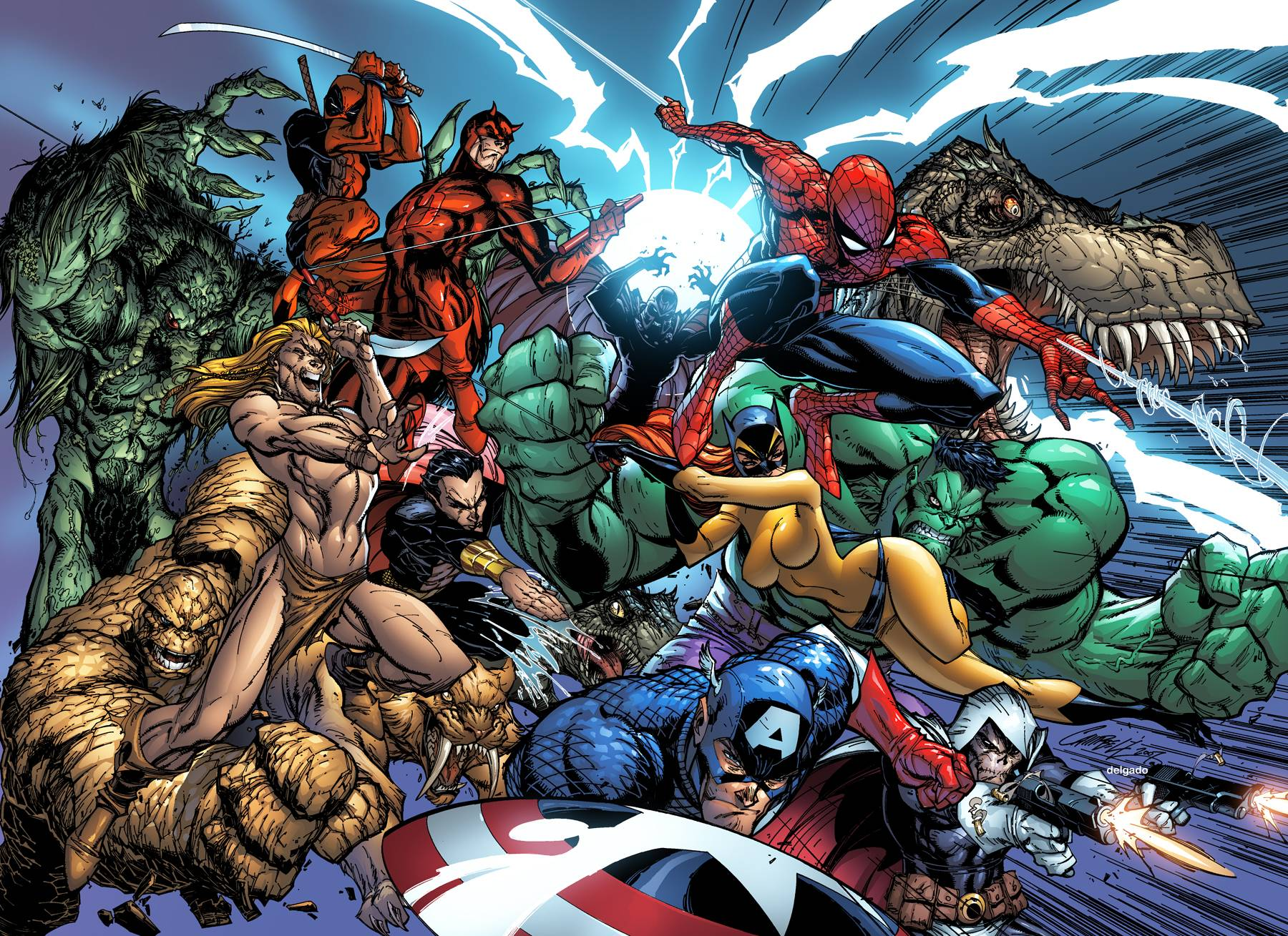 Marvel Vs Dc Wallpaper