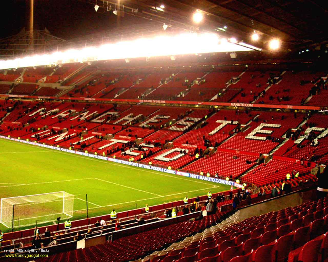 Manchester United Stadium Wallpapers Wallpaper Cave