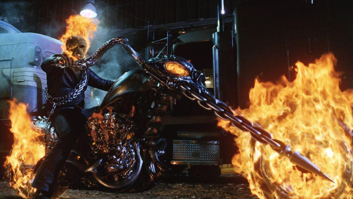 ghost rider bike wallpapers - wallpaper cave