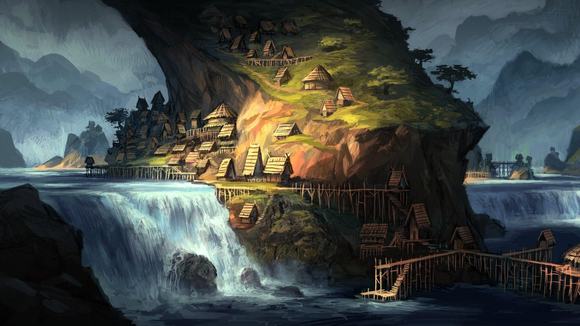 Download Wallpapers, Download 1920x1080 water fantasy art artwork