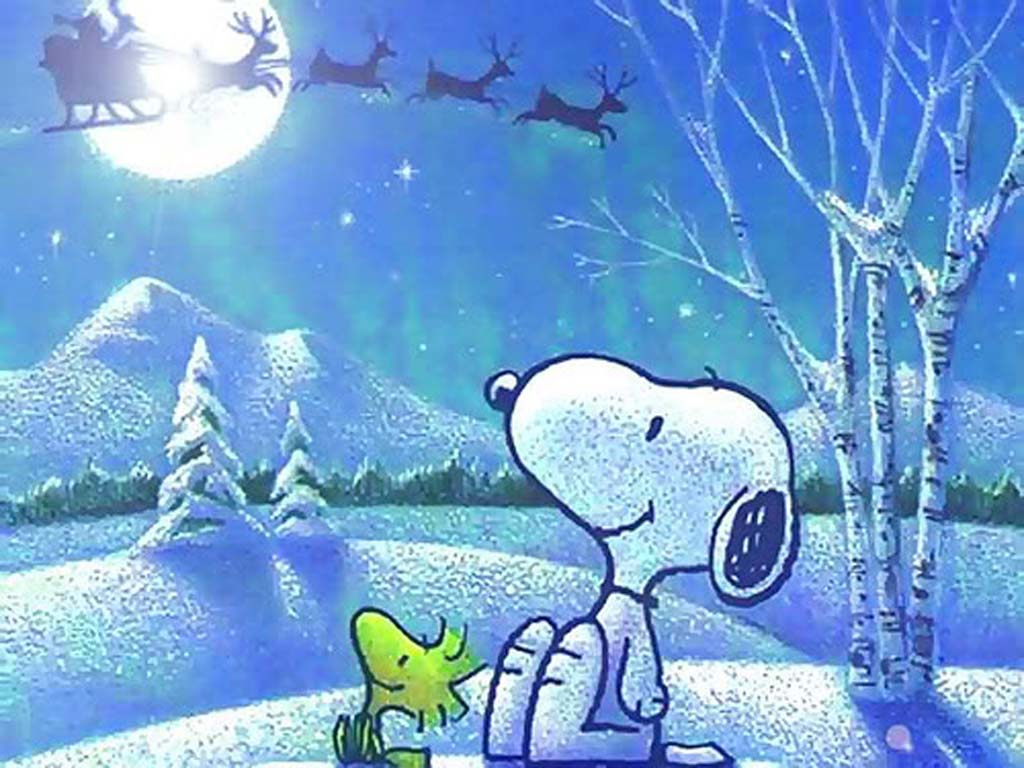 Snoopy Weihnachten Bilder.Snoopy Christmas Backgrounds Wallpaper Cave