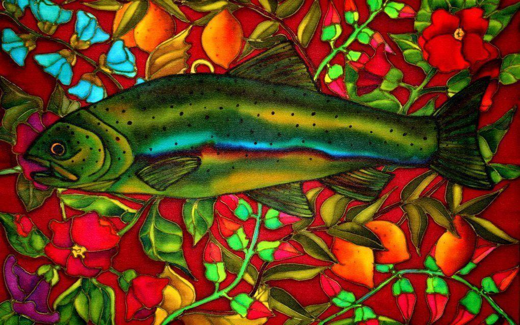 trout wallpaper free backgrounds - photo #17