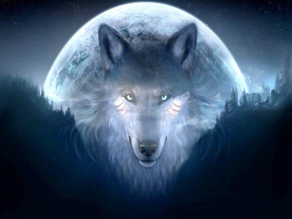 Awesome Fantasy Wolf Wallpapers Desktop