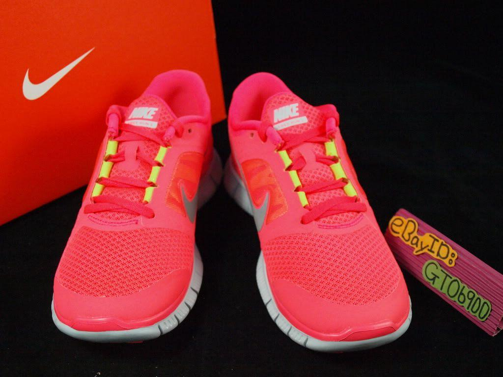 nike free run 3 punch pink aura central
