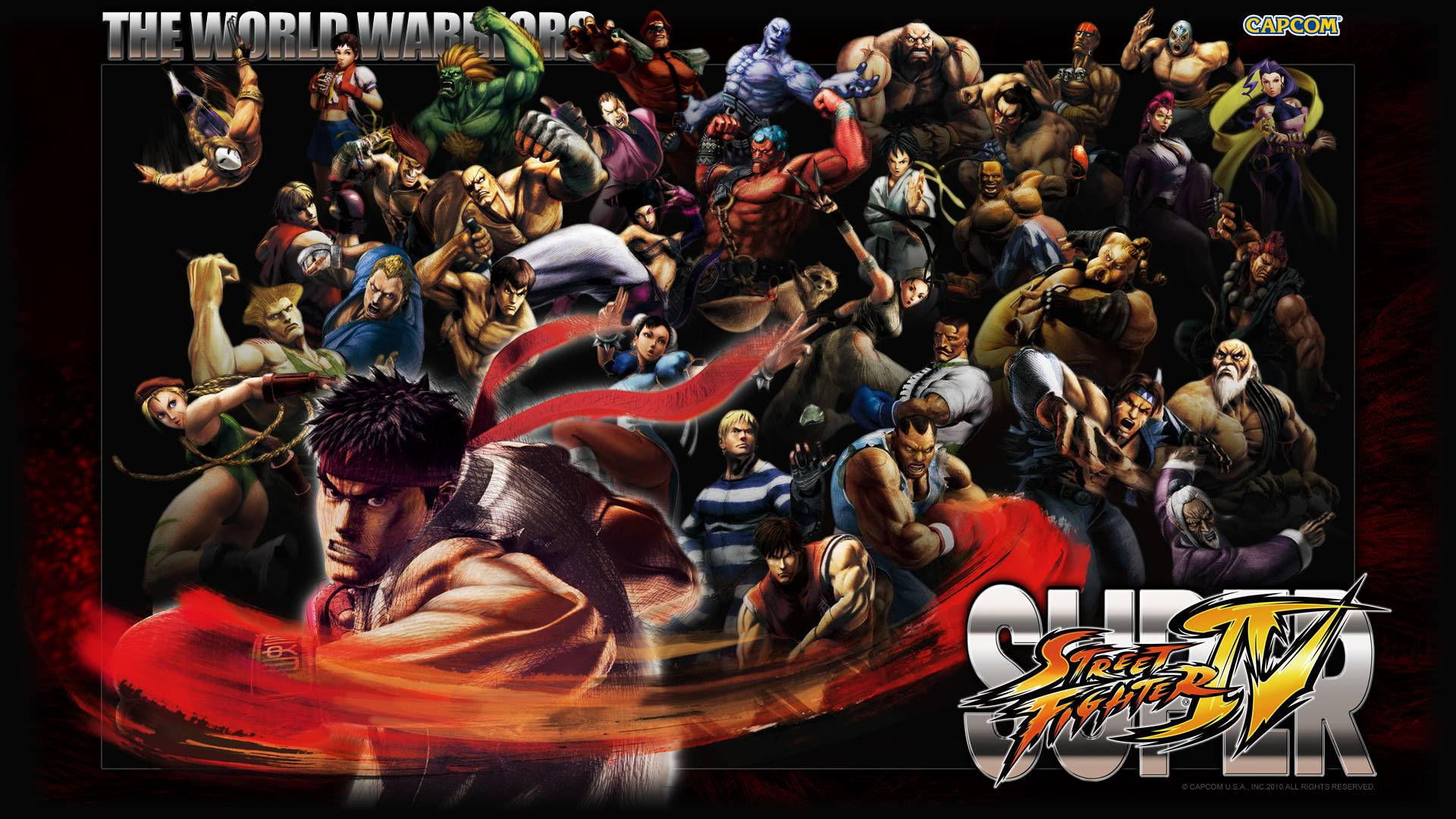 Street Fighter Iv Wallpapers Wallpaper Cave