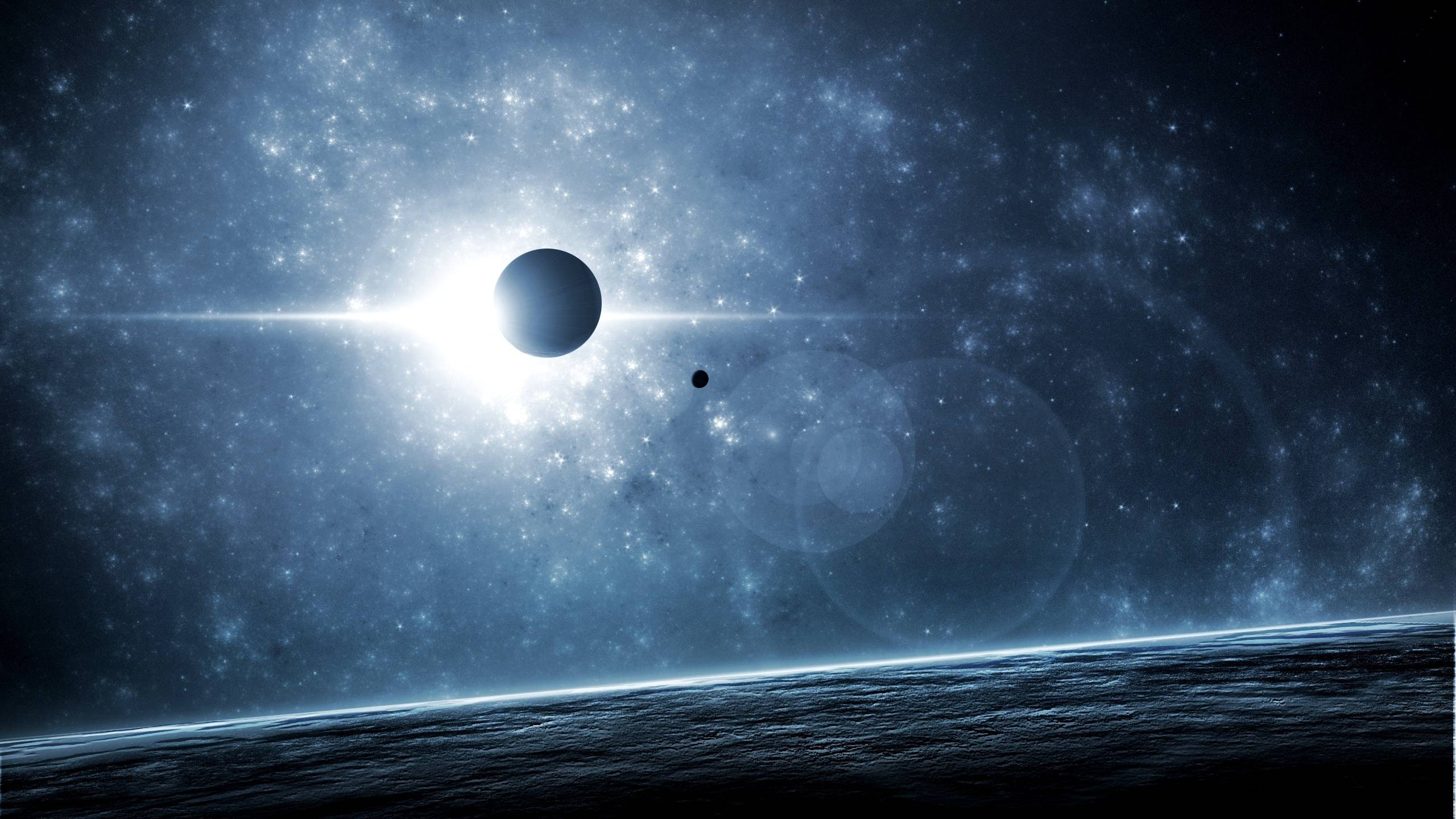 Planet Eclipse Tiny Distant Solar Lunar hd wallpaper #
