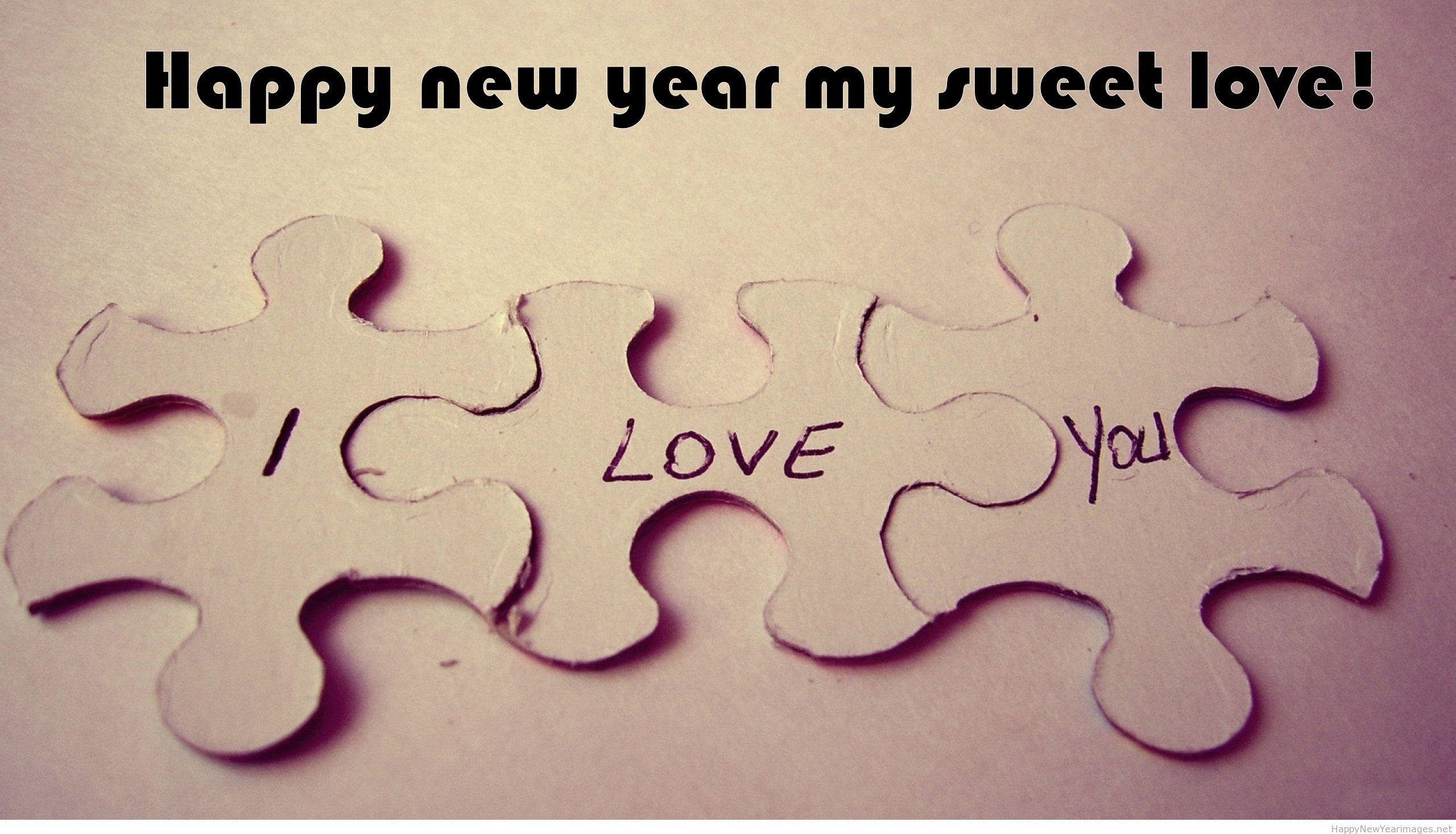 Happy new year 2015 love puzzle wallpapers