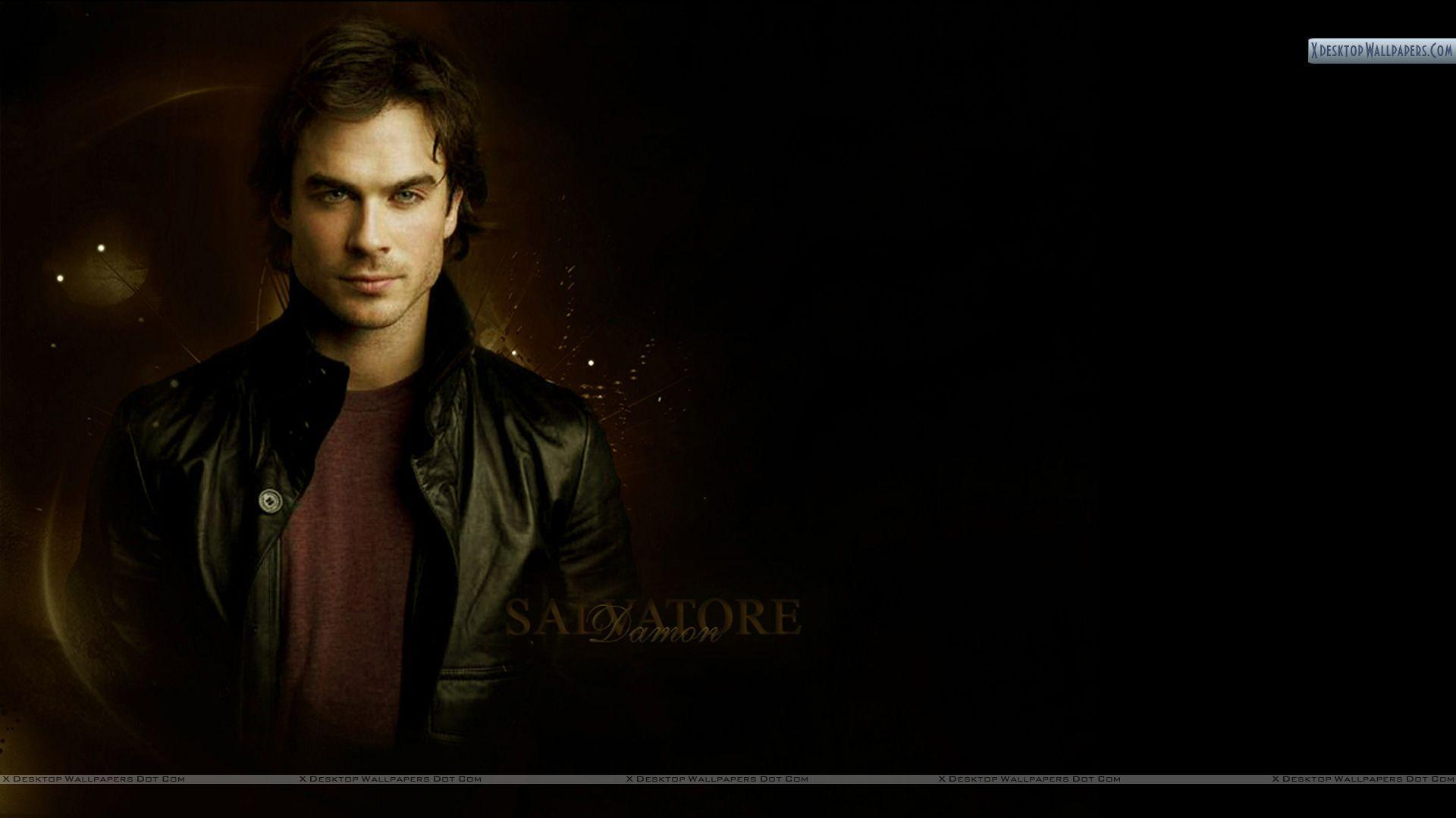 Ian Somerhalder As Damon Salvatore Wallpapers