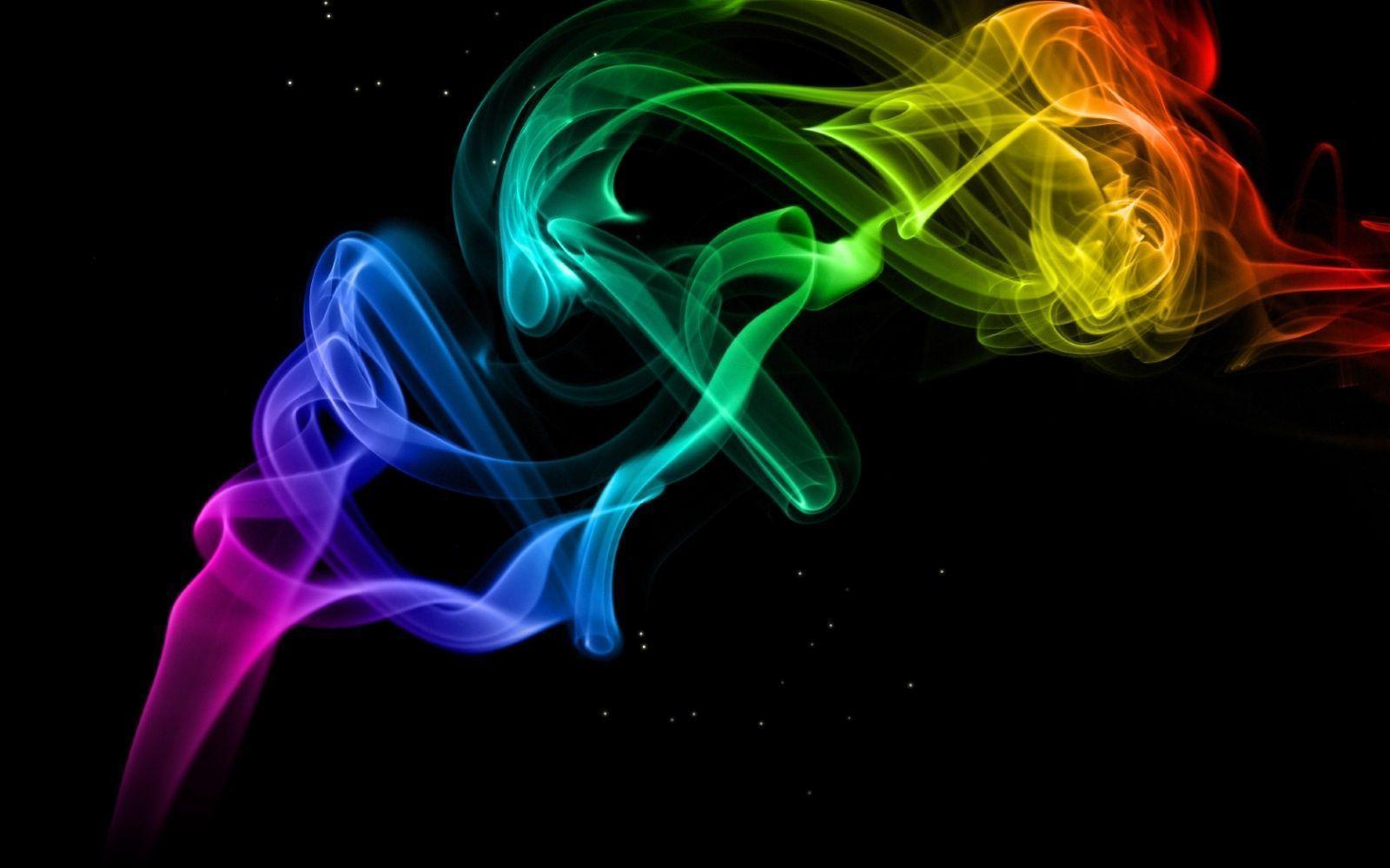 Colored Smoke Wallpape...