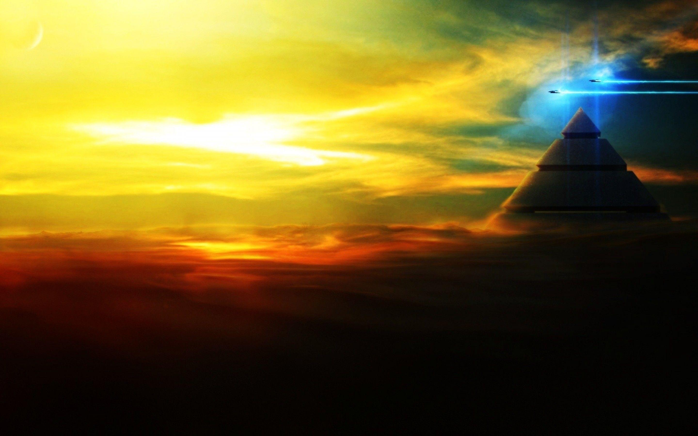 alien sunset wallpaper - photo #31