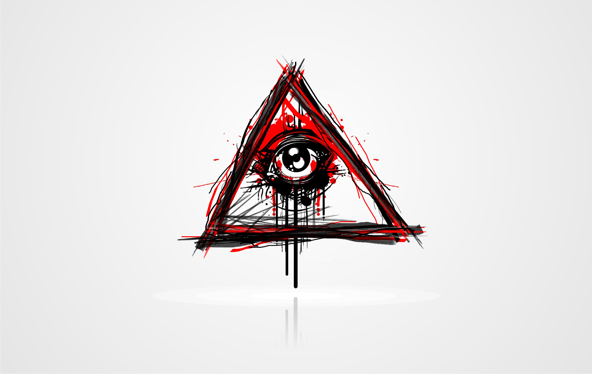 illuminati triangle wallpaper hd -#main