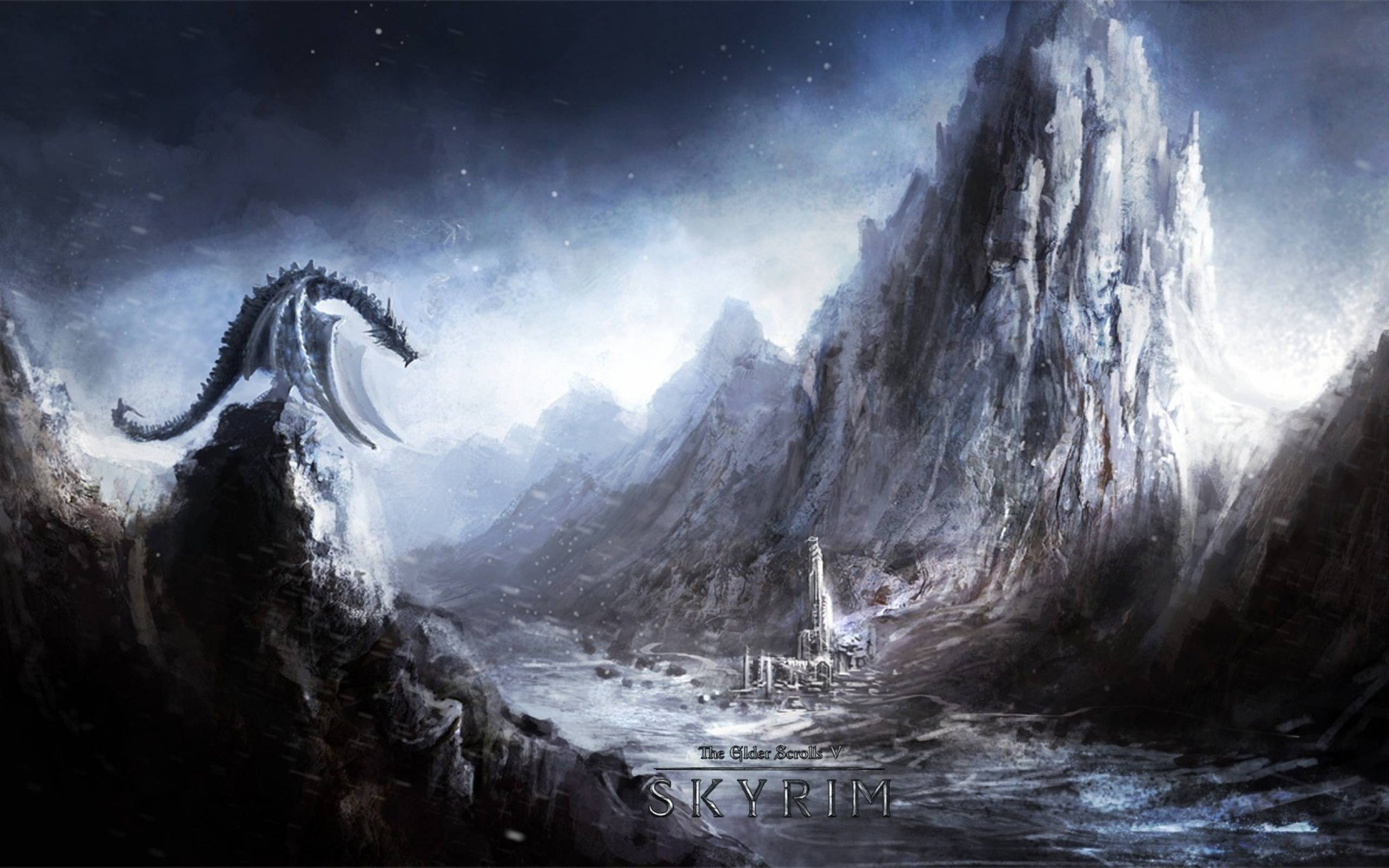 hd skyrim wallpapers
