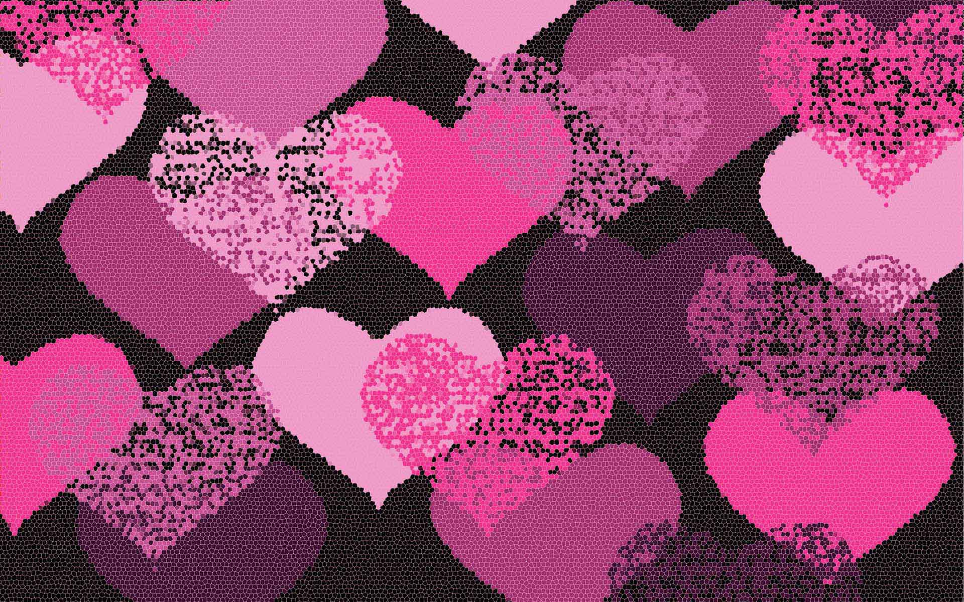pink love backgrounds wallpaper cave