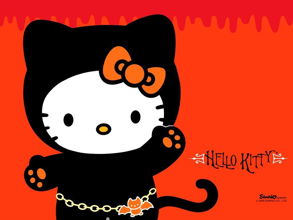 Black And Pink Hello Kitty Wallpaper HD Wallpapers Pinterest