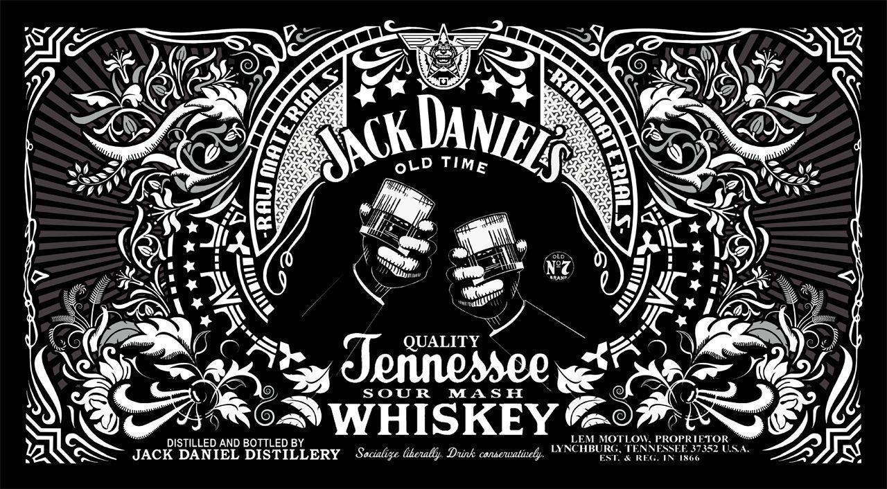 Jack Daniels Wallpapers - Wallpaper Cave Jack Daniels Logo Maker