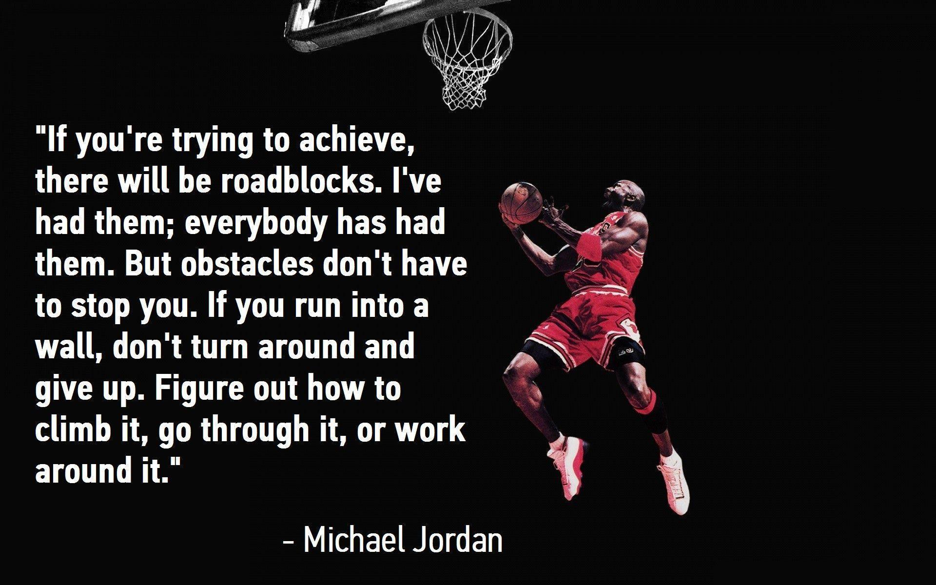 Michael Jordan Wallpaper For Computer: Michael Jordan Quote Wallpapers