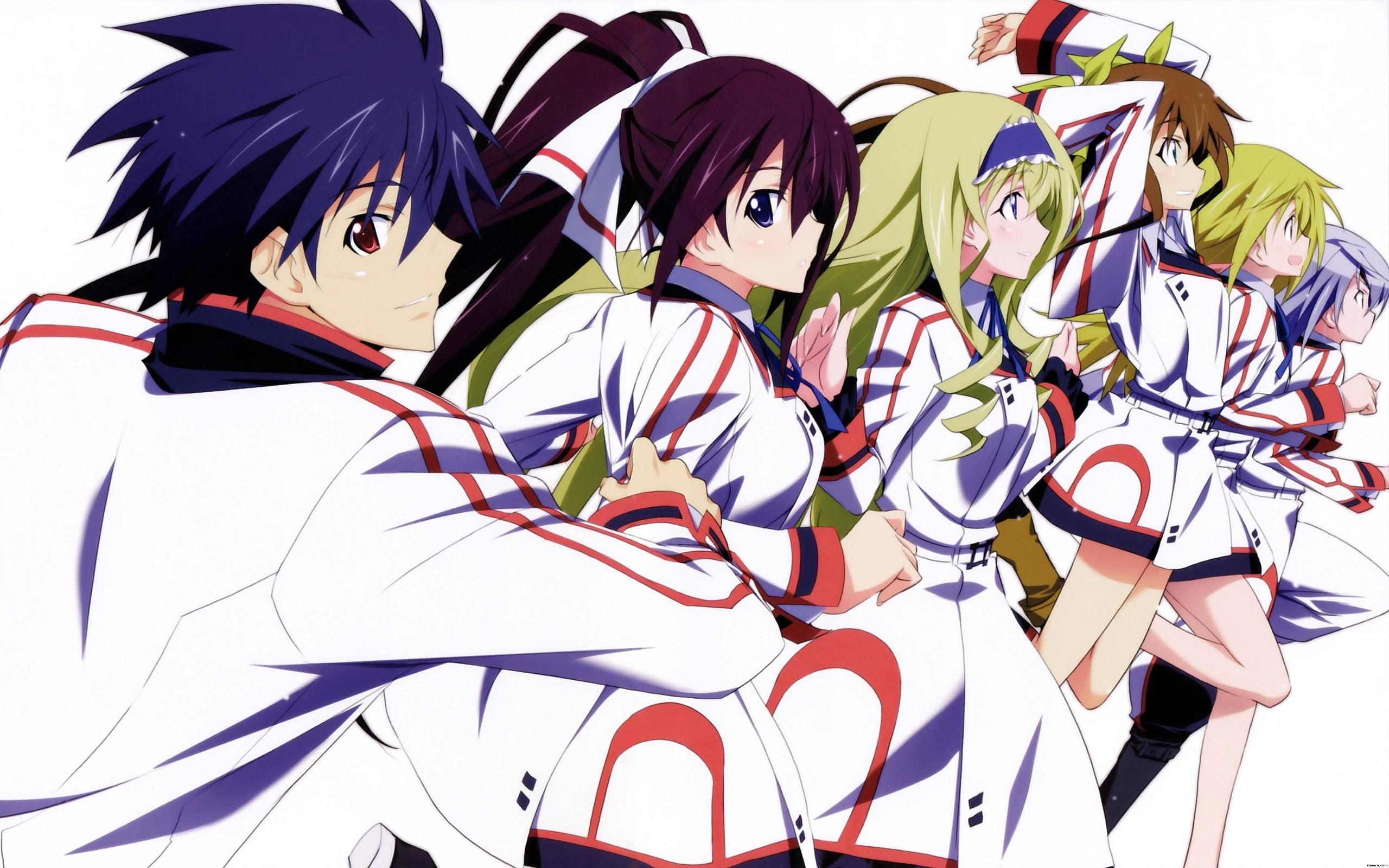 Infinite Stratos Wallpapers Wallpaper Cave