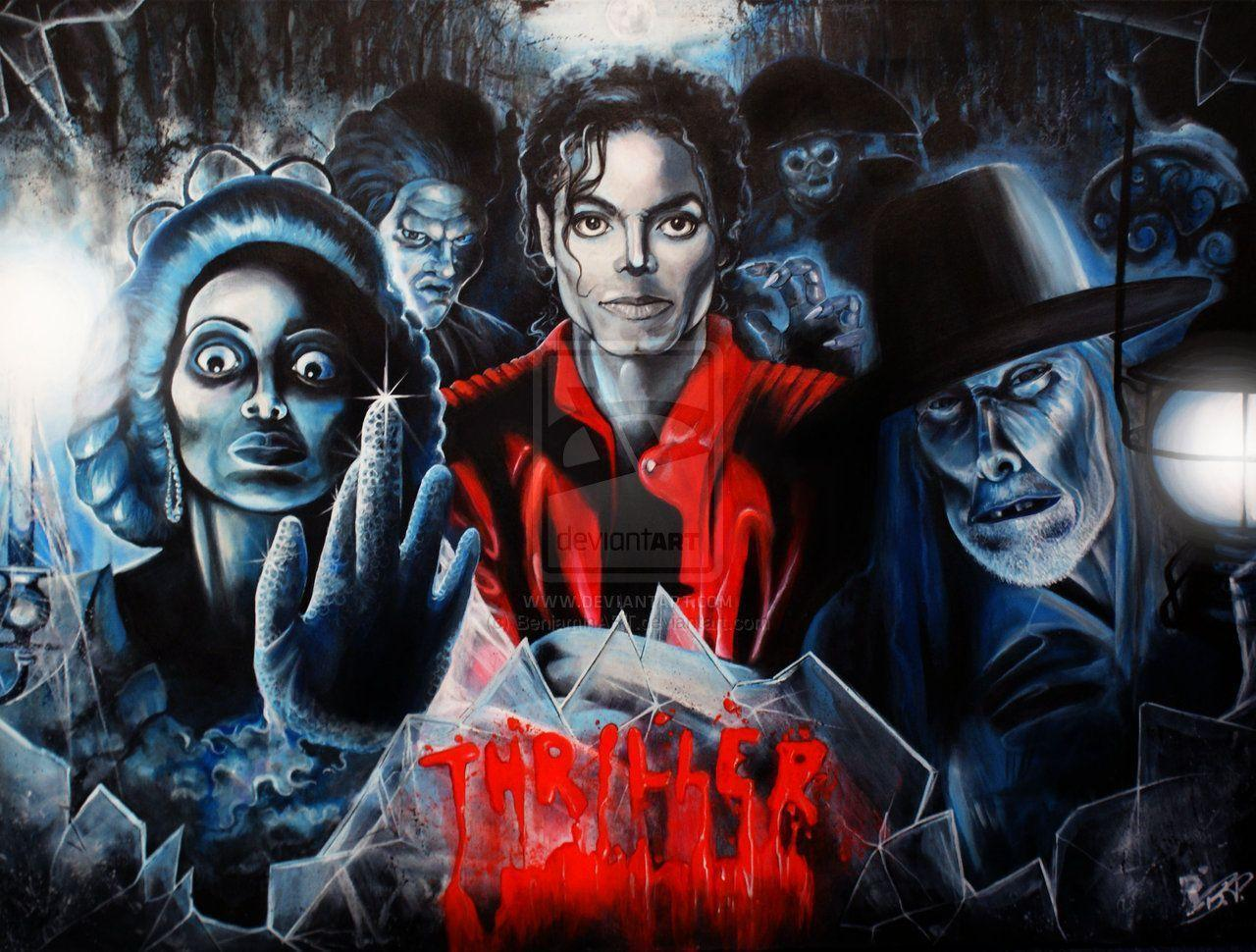 Michael Jackson Thriller Wallpapers Wallpaper Cave