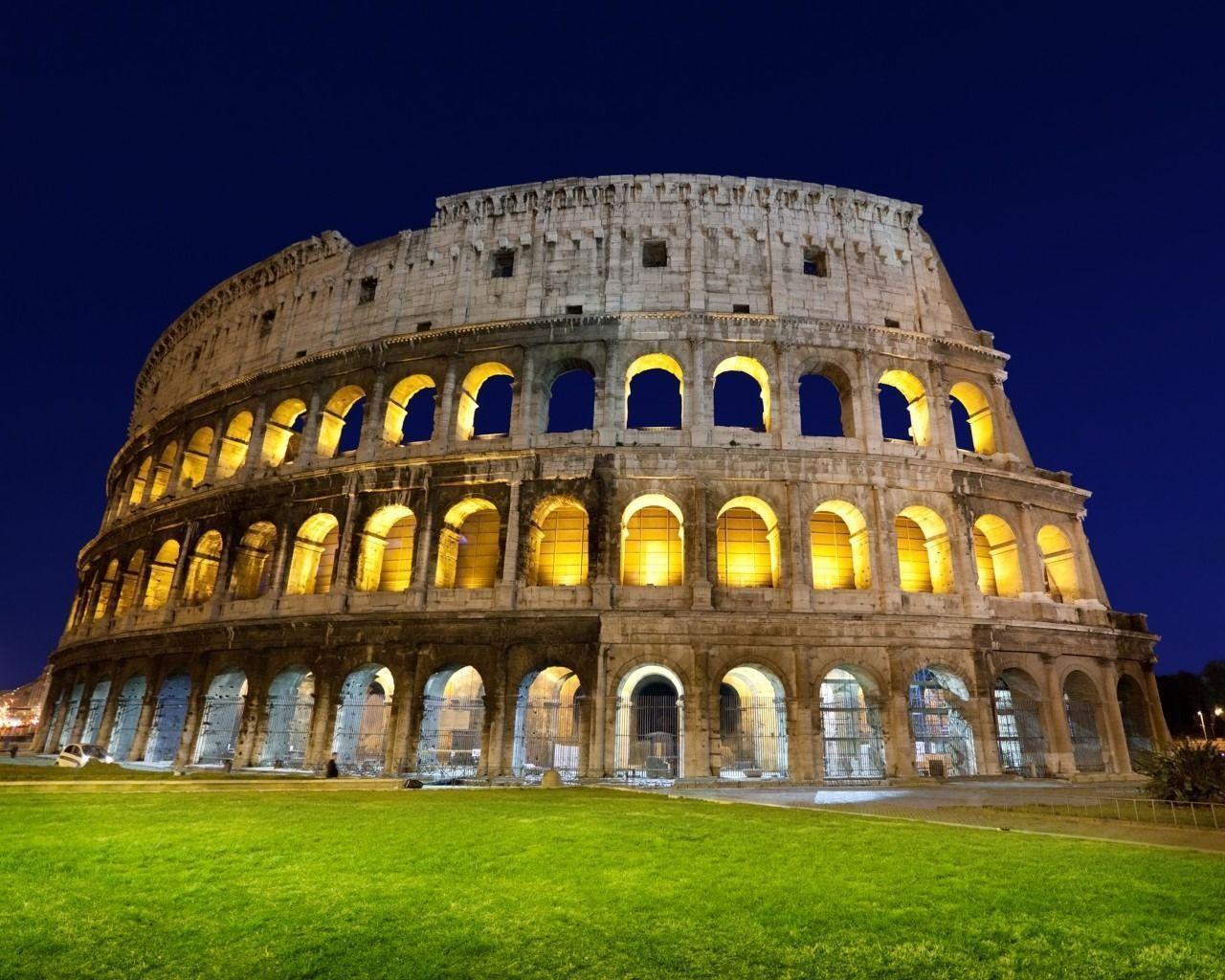 Colosseum Roma Wallpaper | Wallpaper HD | HD Desktop Backgrounds ...