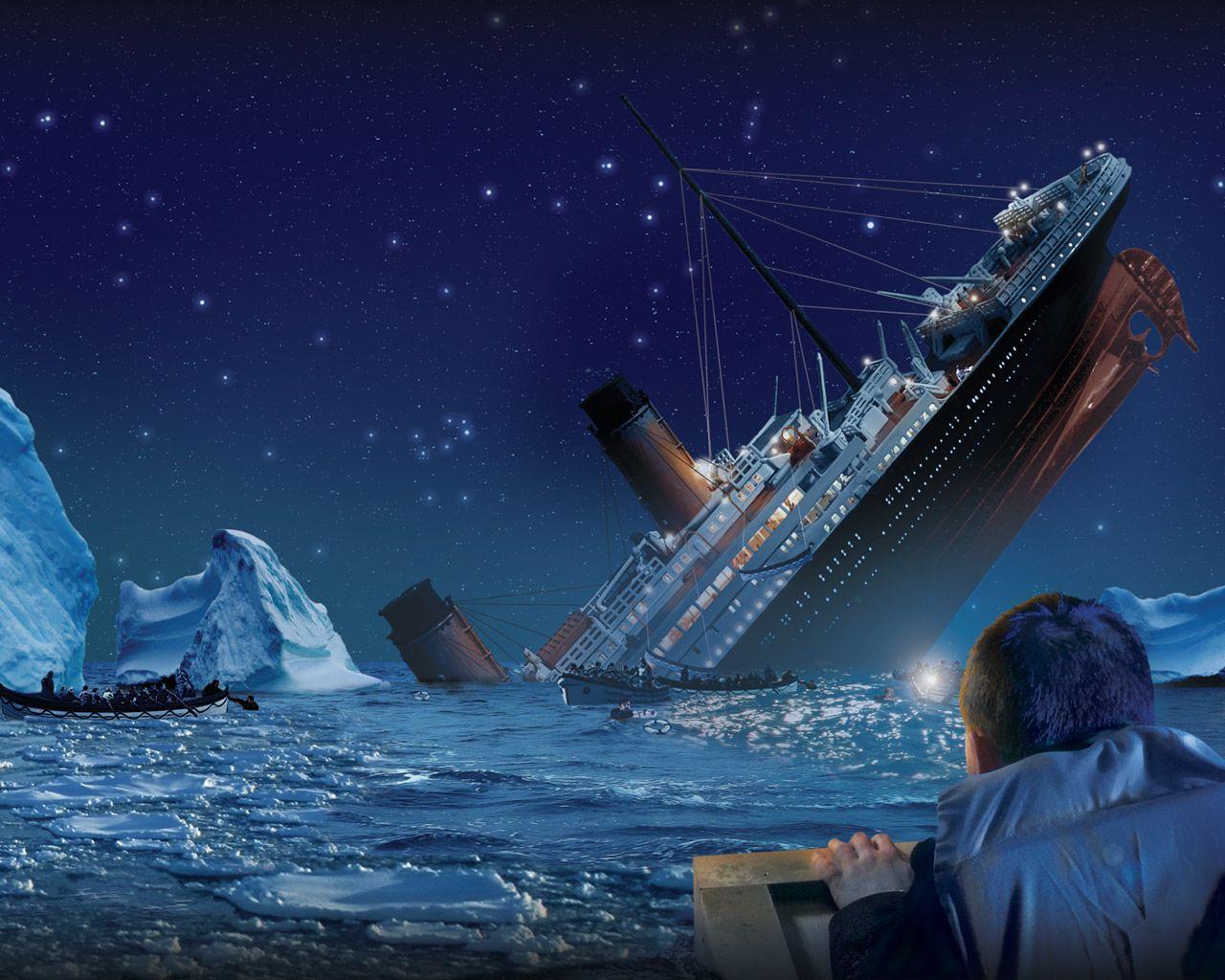 download wallpaper titanic under - photo #4