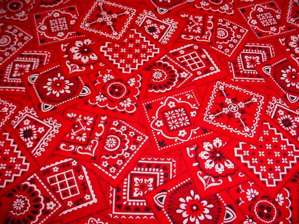 gallery for blood bandana red