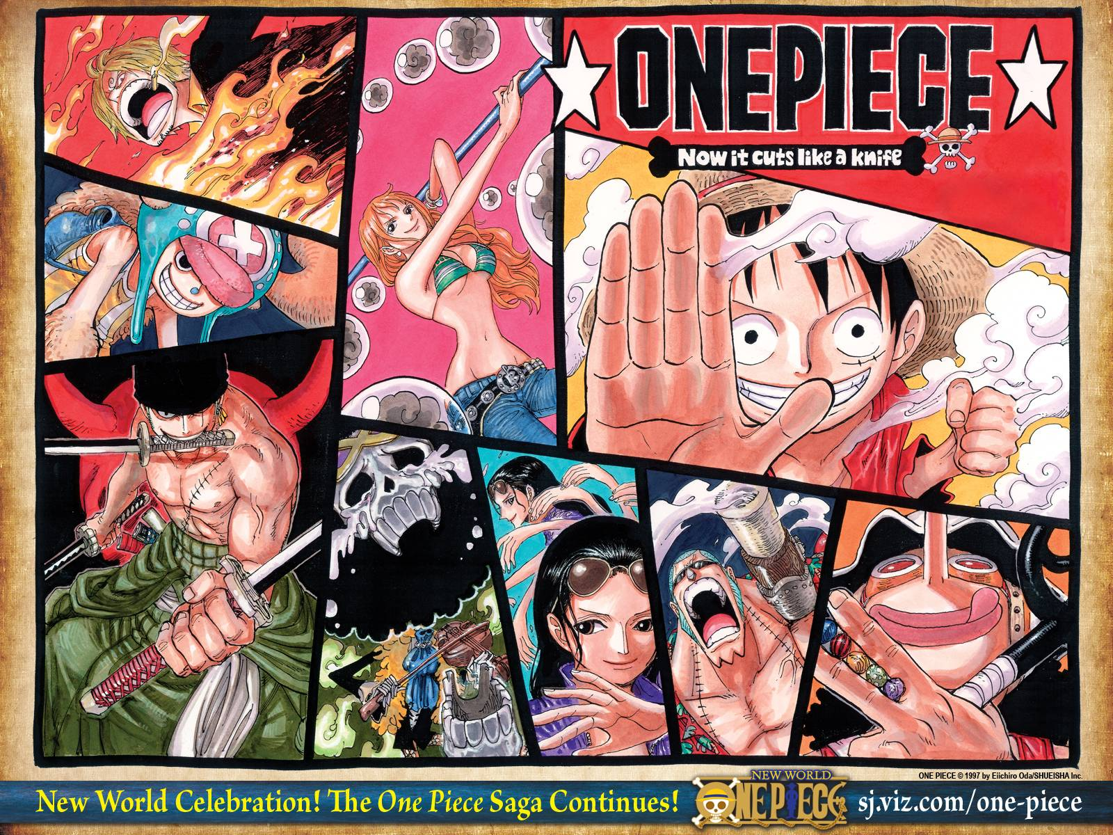 One Piece Crew Wallpapers New World