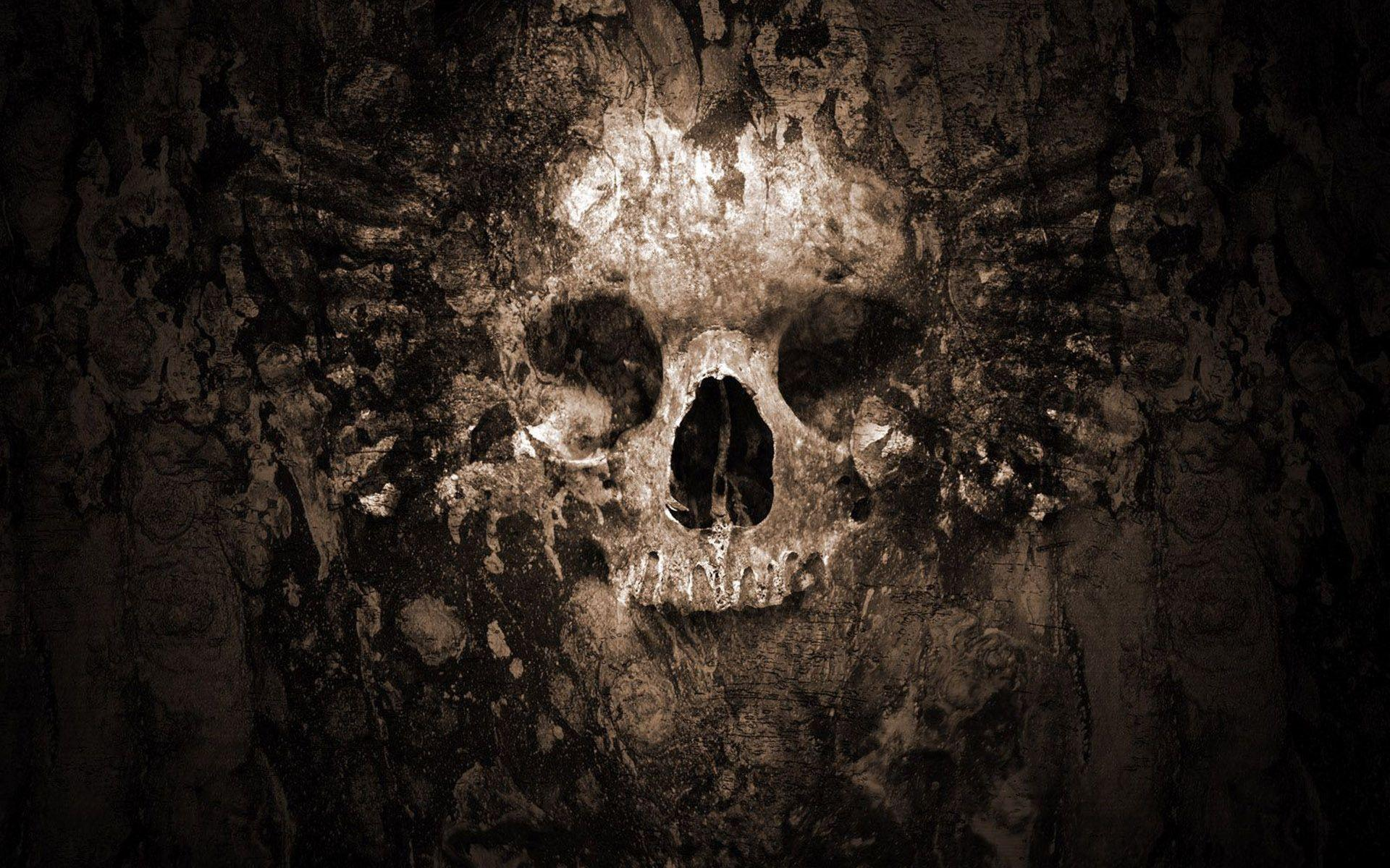 skull wallpaper wallpapers hd - photo #1
