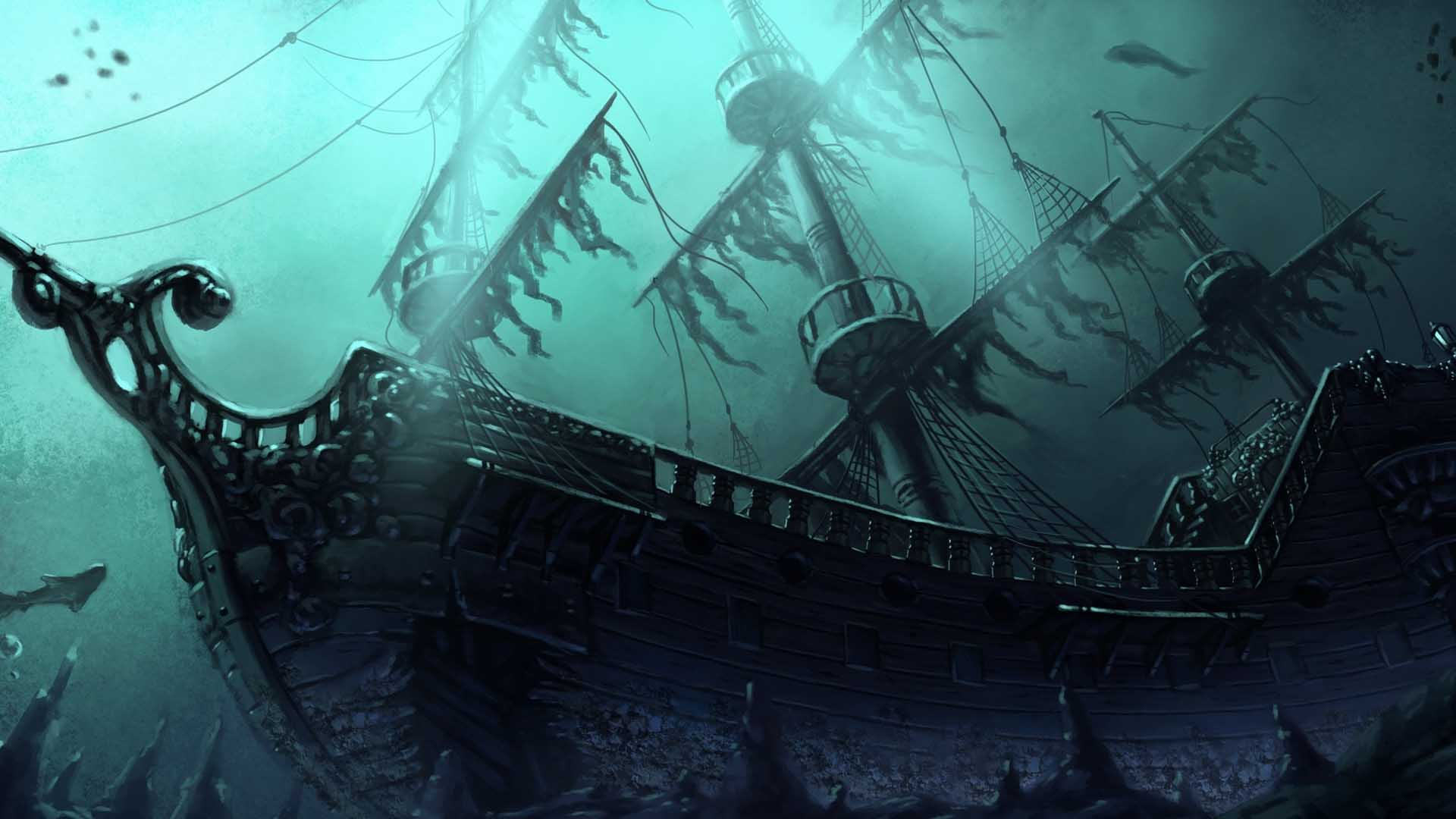 bateau pirate wallpaper - photo #44
