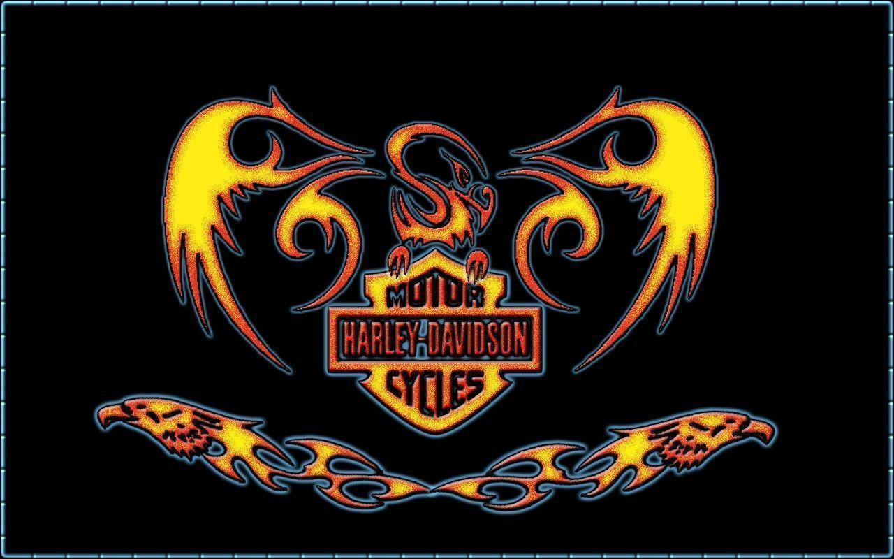 Harley Davidson 3D Wallpapers - Wallpaper Cave