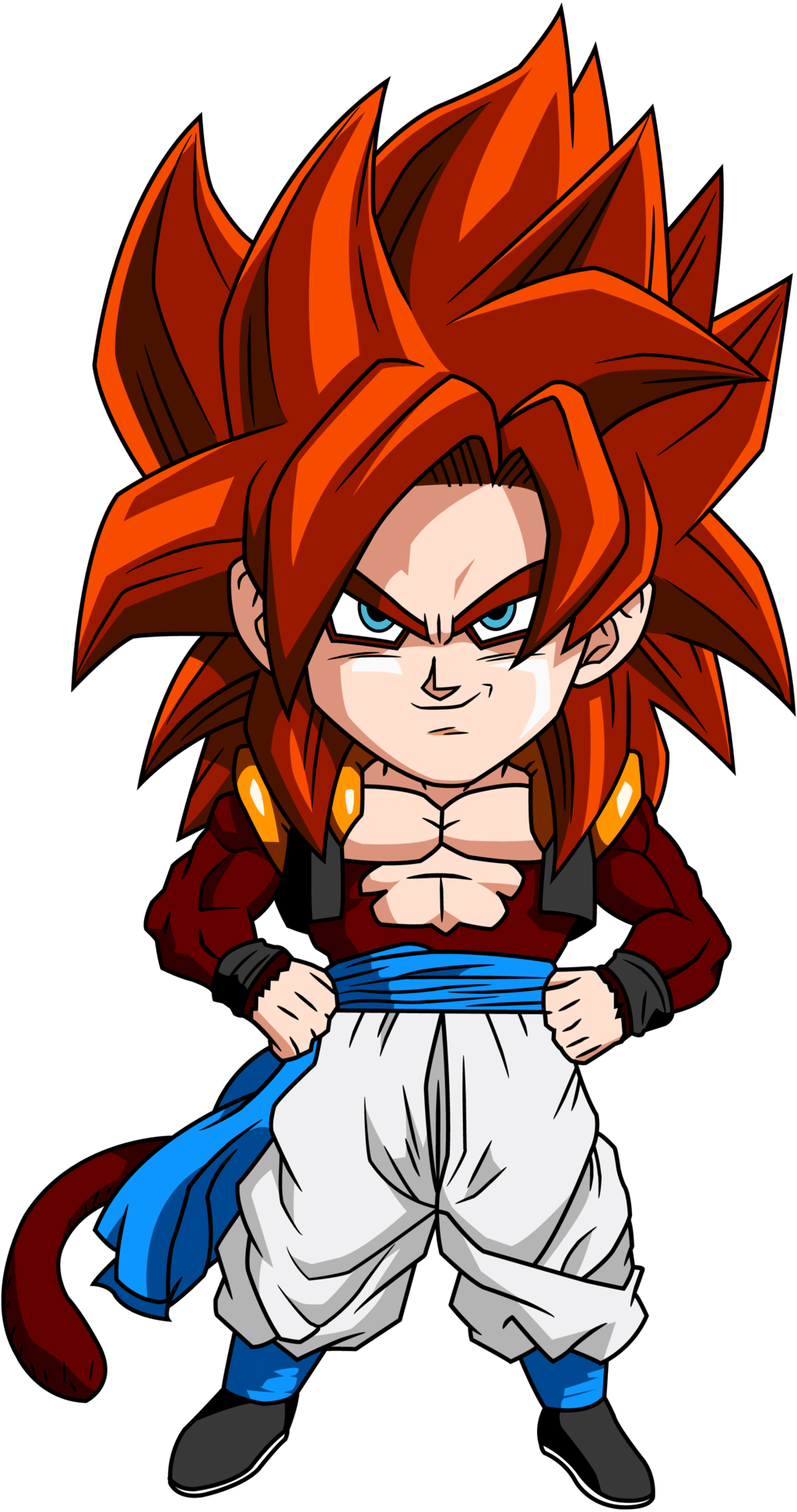 Gogeta SSJ4 Wallpapers - Wallpaper Cave Ssj4 Gogeta