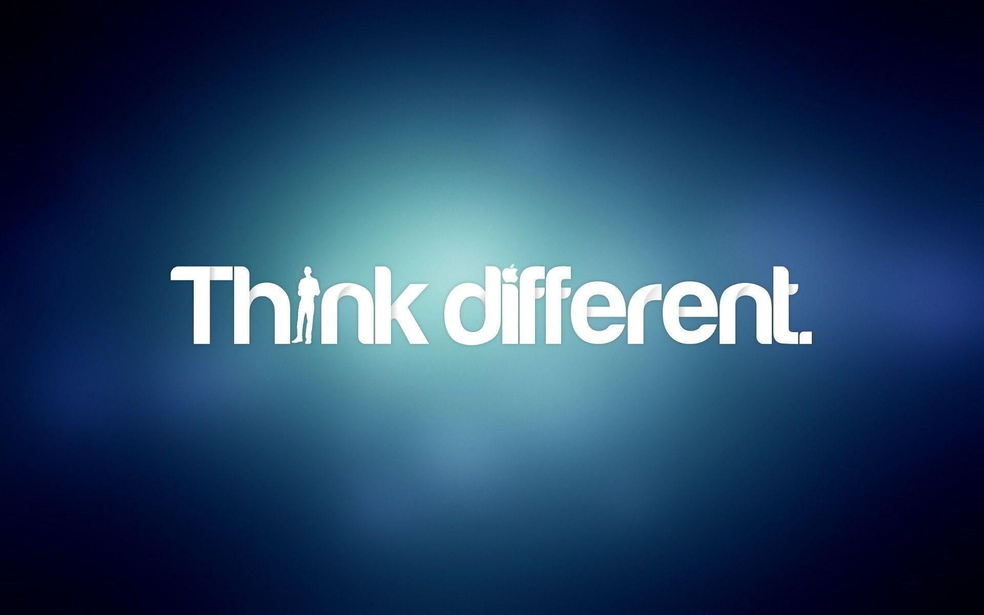 Think Different Apple Wallpaper HD Wallpapers × Think