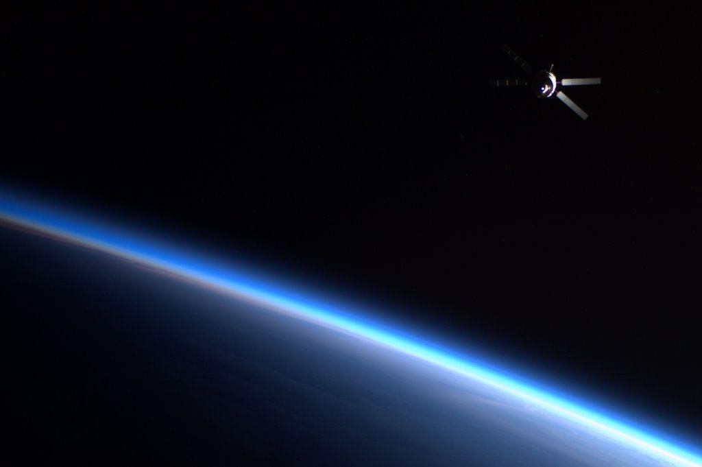 Is This a Scene from Star Wars or a Real Image from the ISS?