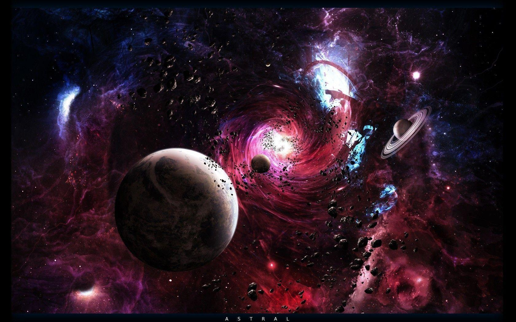 colorful 3d wallpaper planets - photo #45