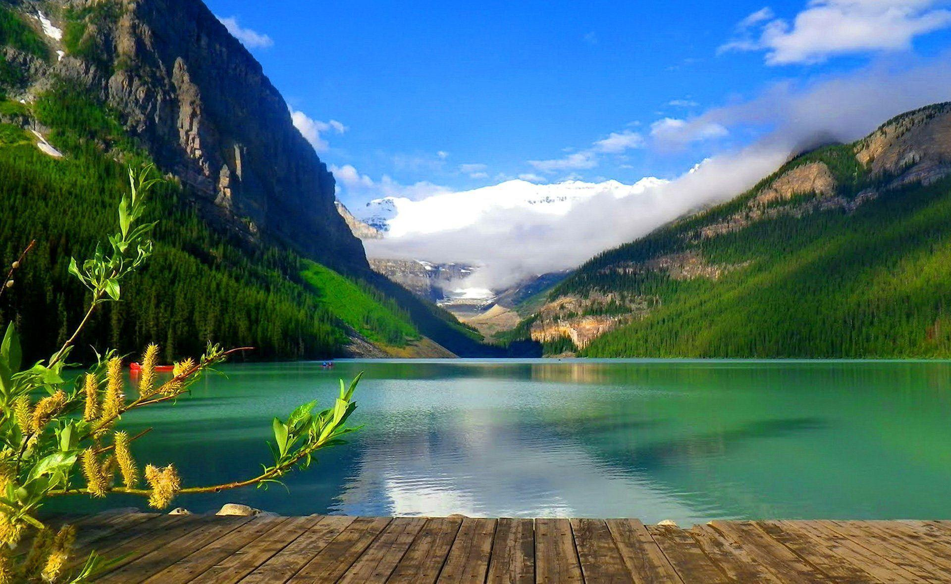 Lake Louise-alberta, Canada Desktop Background - Wallpapers Mela