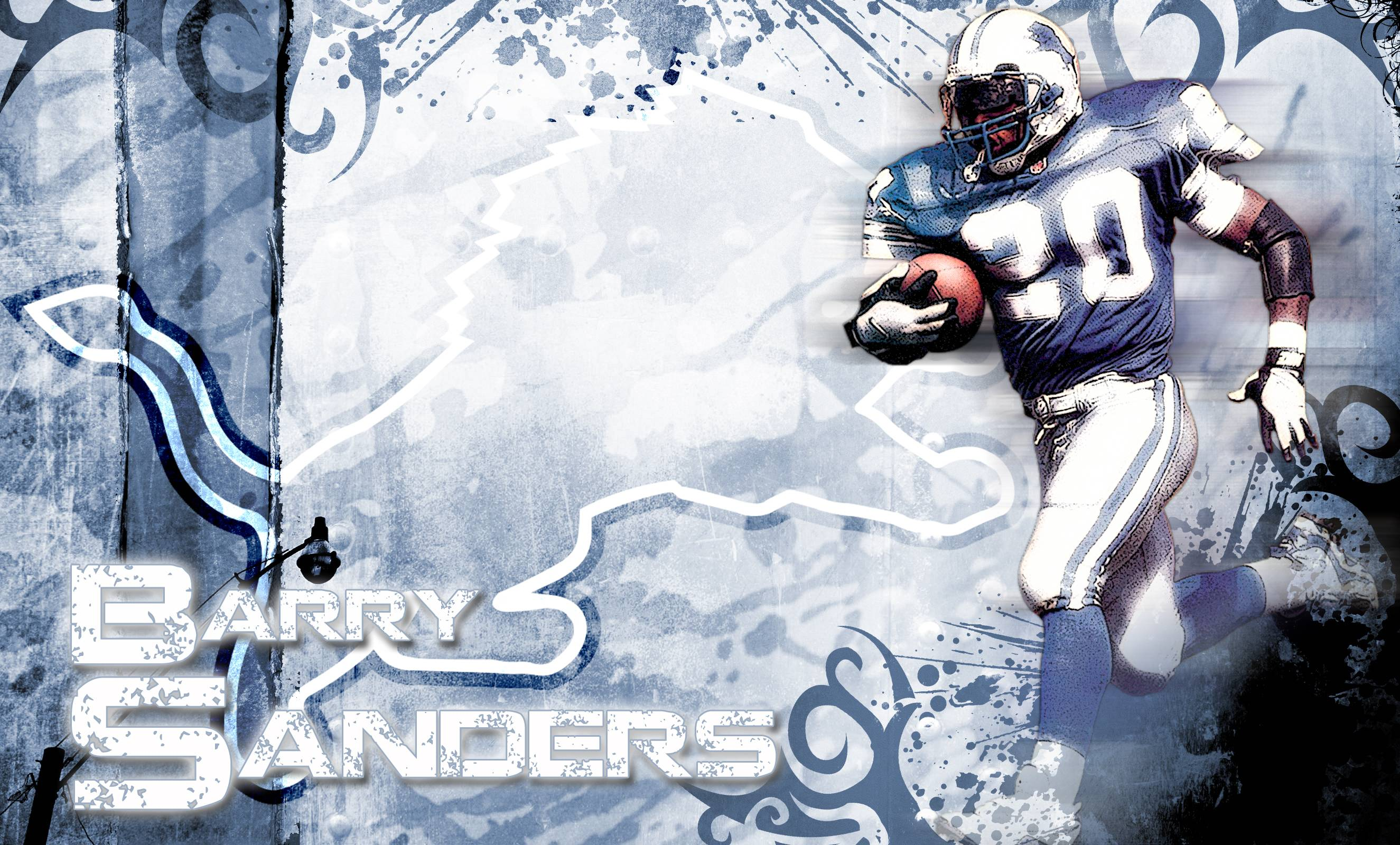 Barry Sanders By KidDynamite On DeviantArt