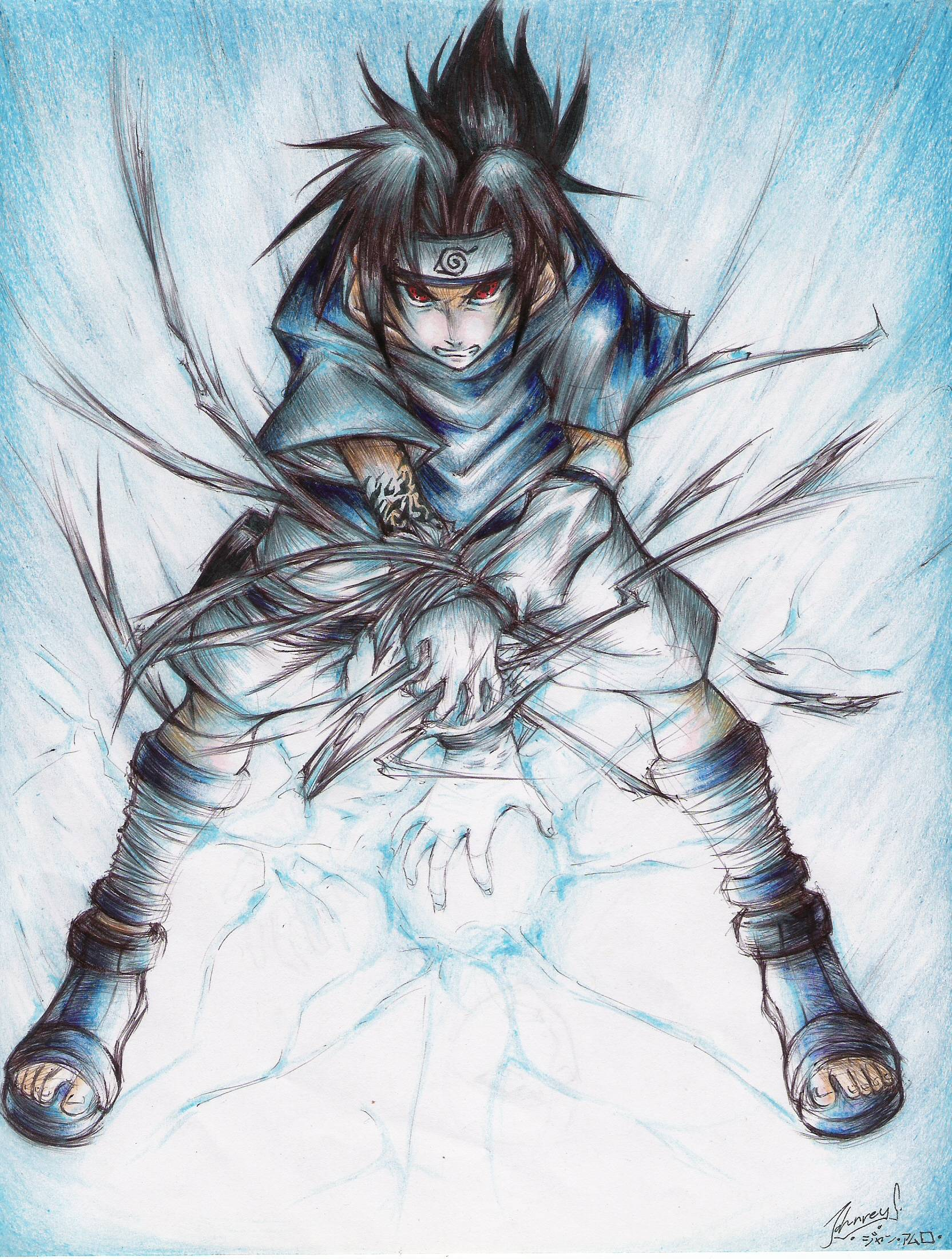 Sasuke Uchiha Chidori Wallpapers - Wallpaper Cave