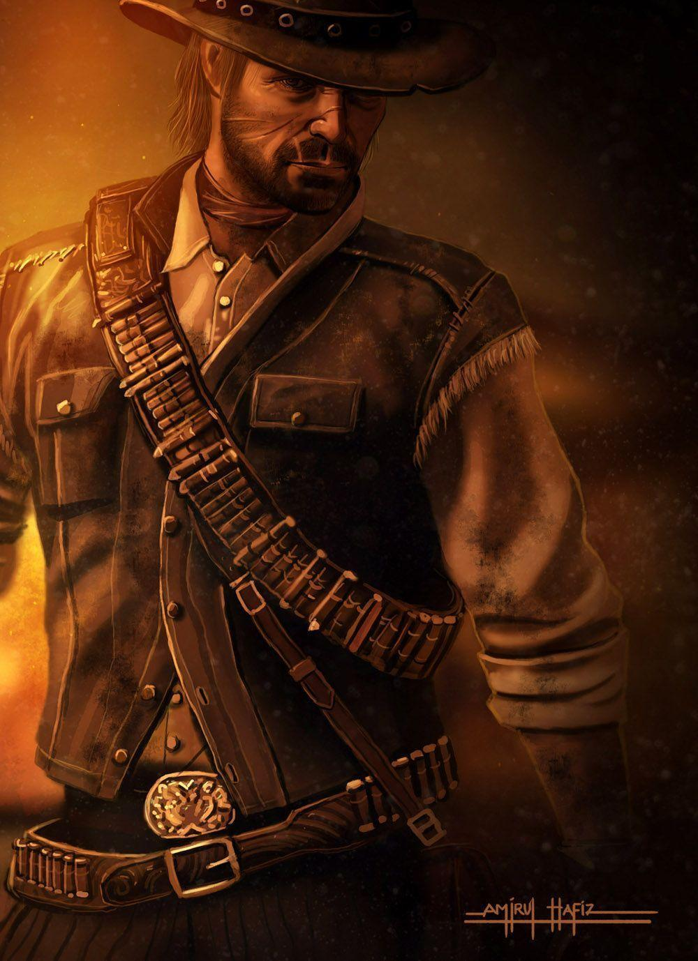 John Marston Wallpapers Wallpaper Cave