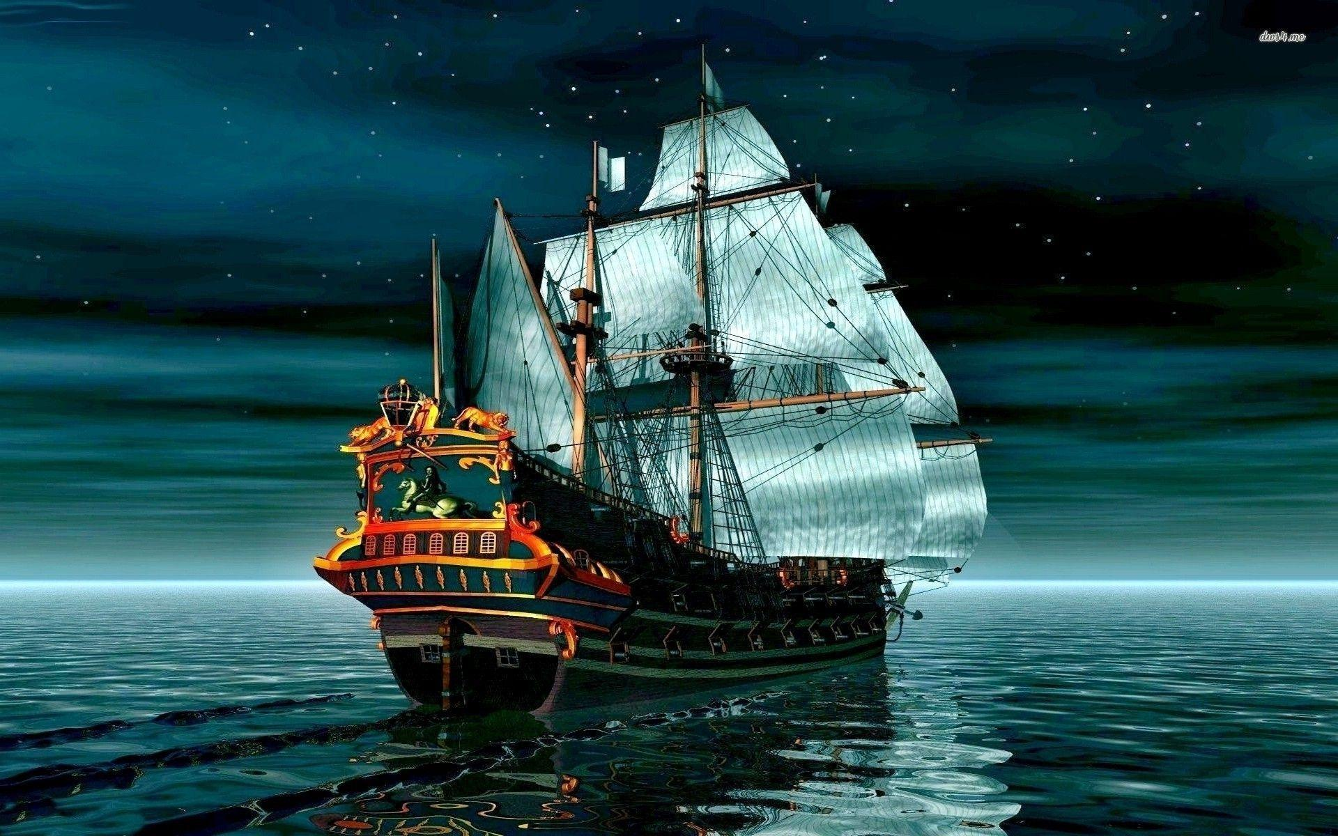 pirate ship computer wallpapers - photo #11