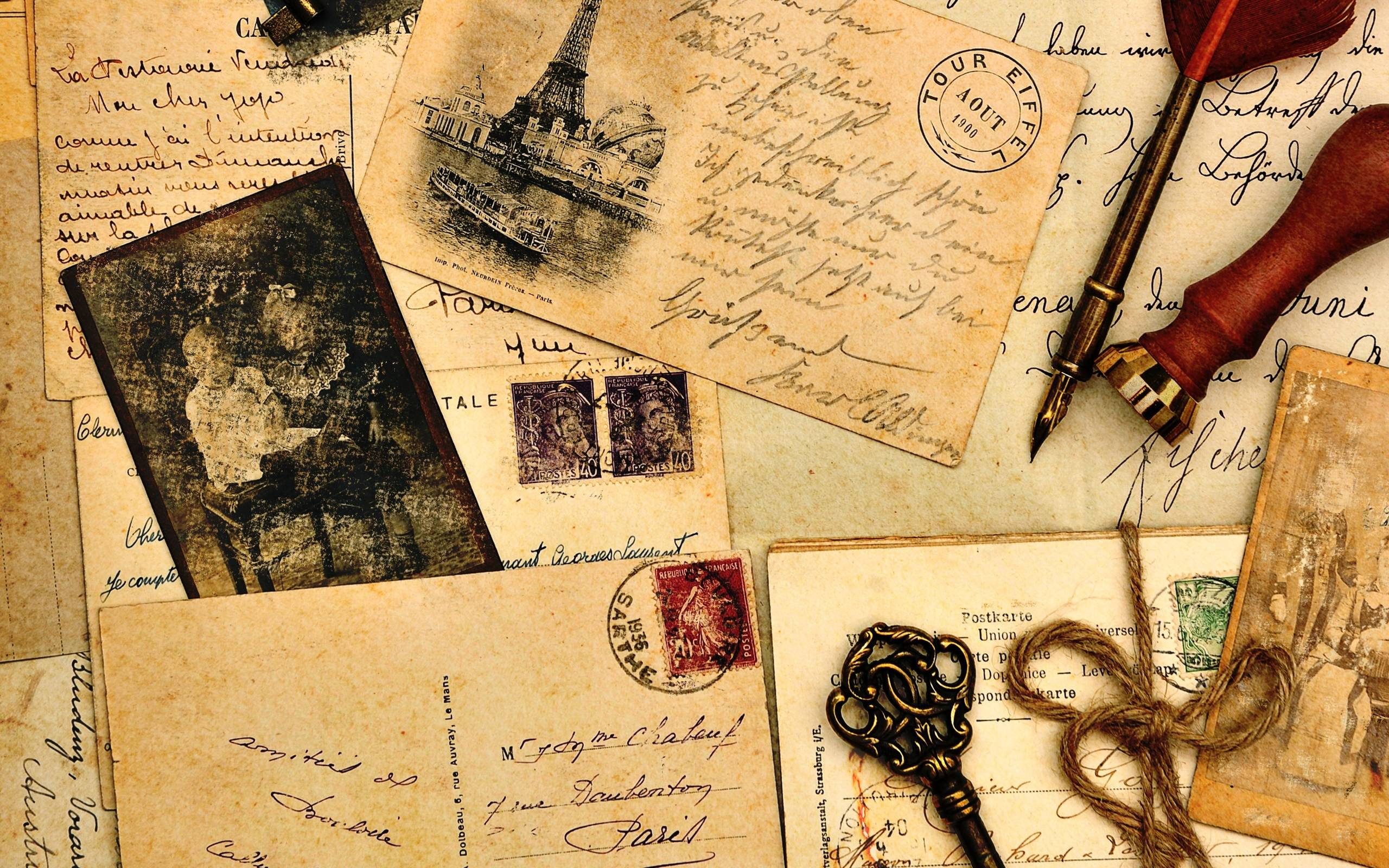 Vintage desktop wallpapers free wallpaper cave - Y love letter wallpaper ...
