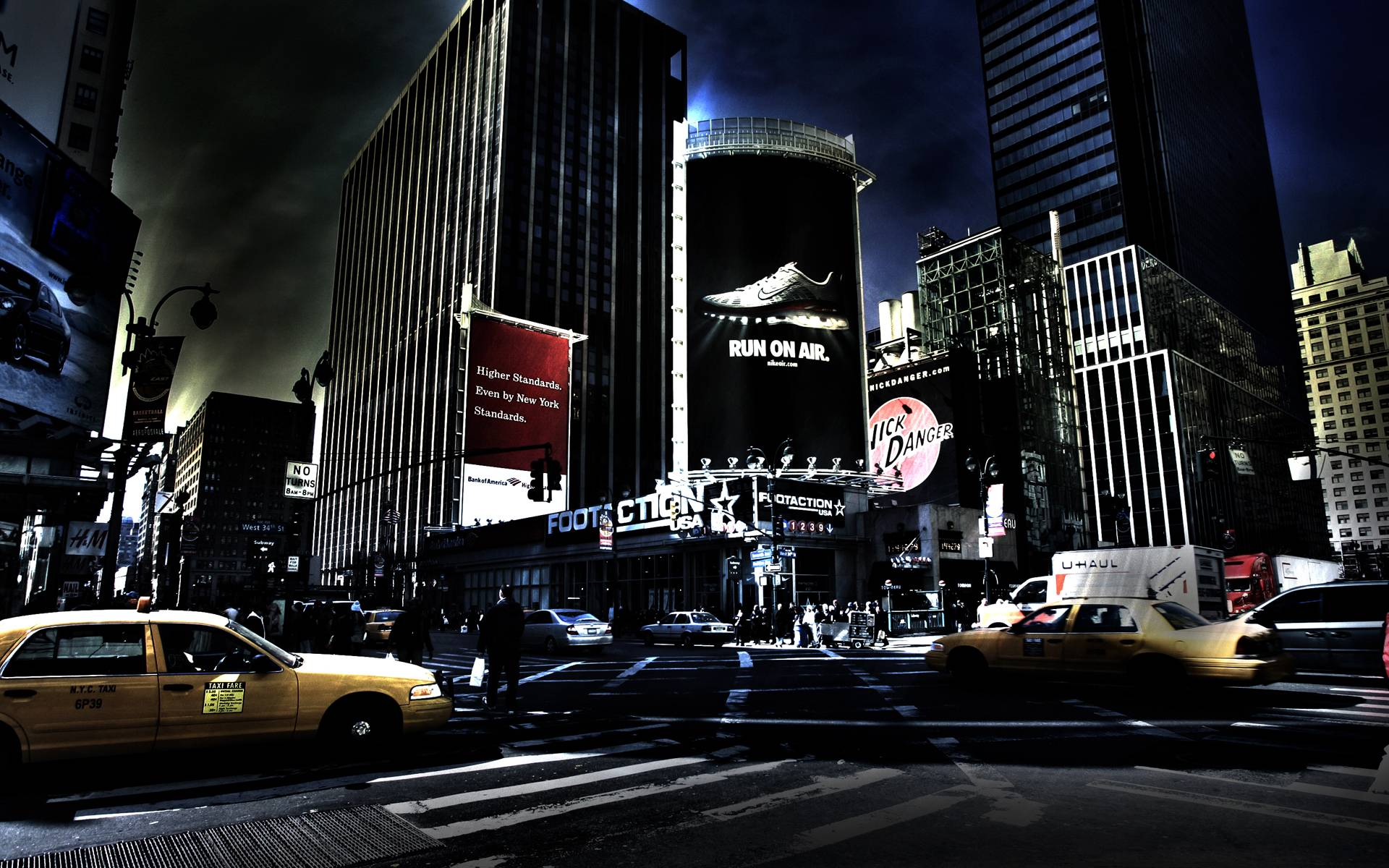 Nyc At Night Wallpapers Wallpaper Cave
