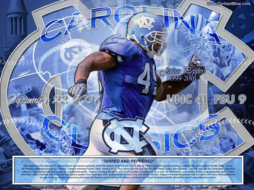 Photo: Julius Peppers UNC Wallpapers