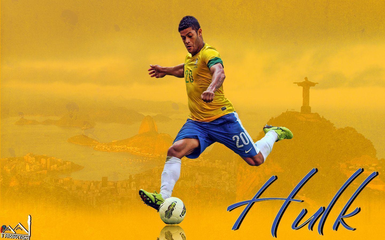 Hulk Brazil football images wallpaper - Football Fevers - Football ...