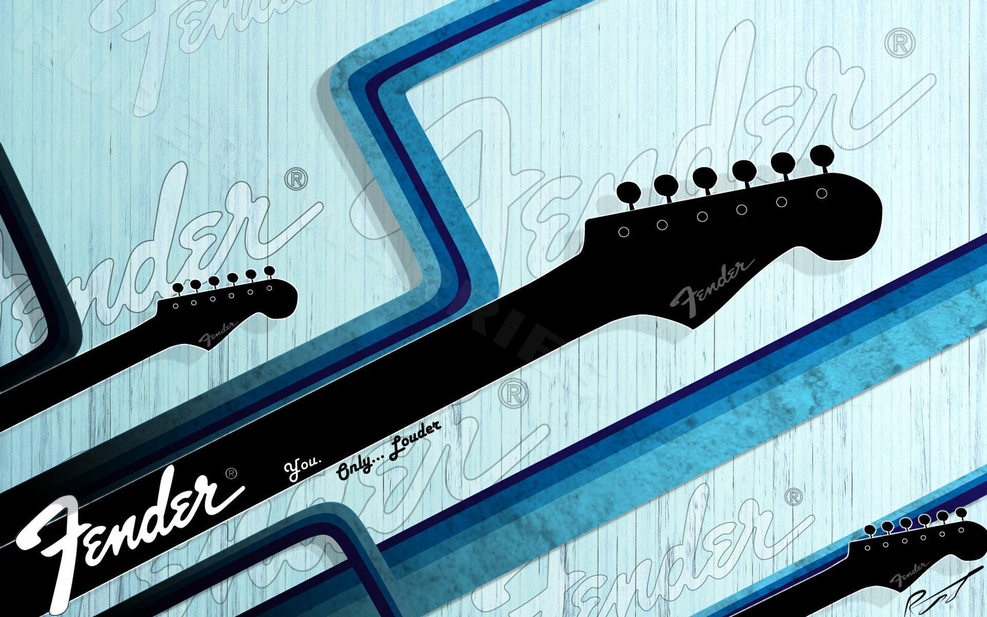 Fender - Guitar Wallpaper (27366949) - Fanpop