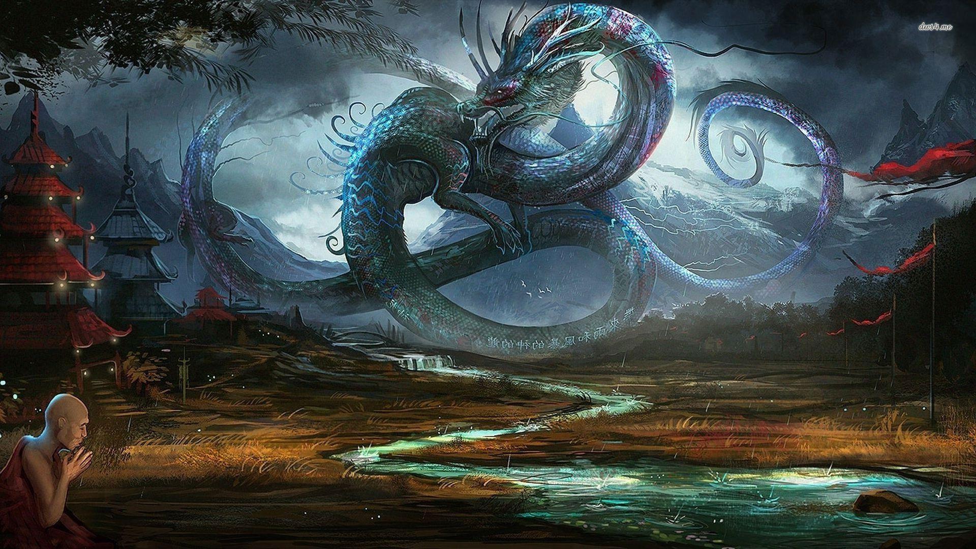 asian dragon wallpapers wallpaper cave
