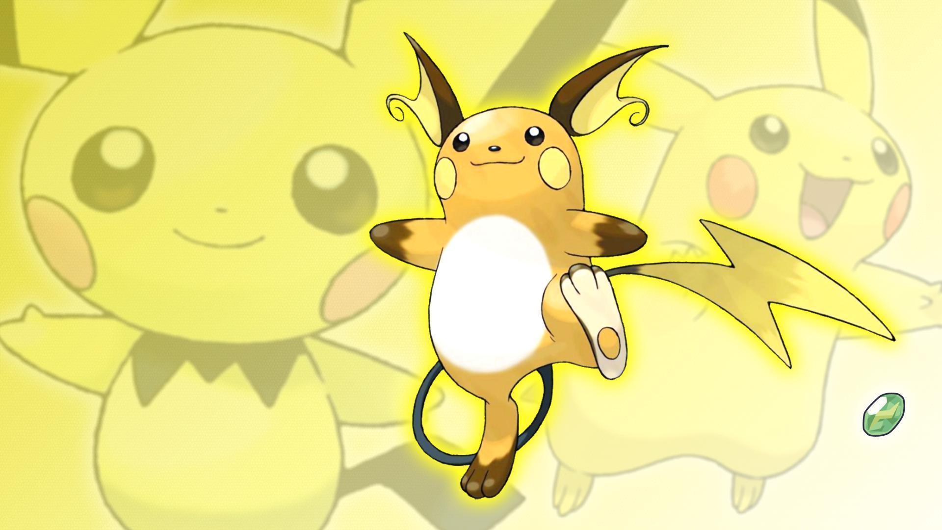Raichu Wallpapers - Wallpaper CavePichu Pikachu Raichu