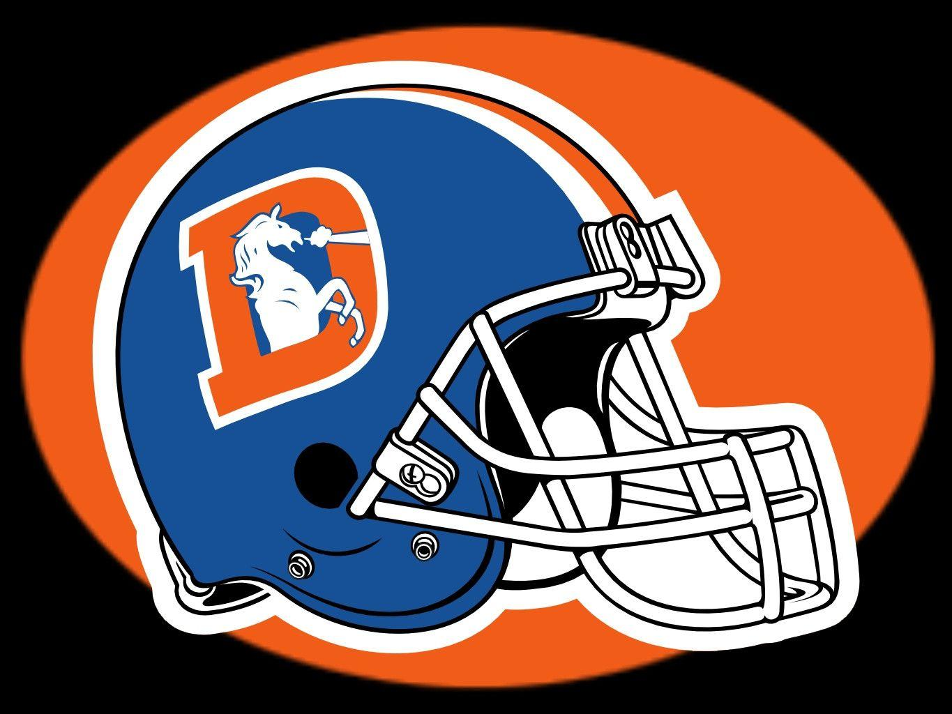 Denver Broncos Team Helmet Wallpapers